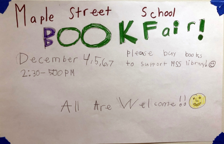 MSS Book Fair