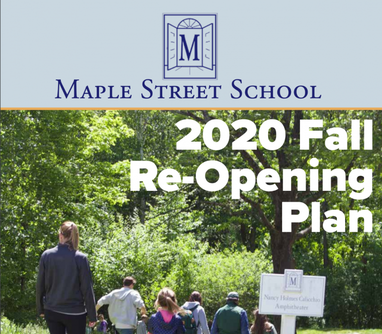 Fall 2020 Re-Opening