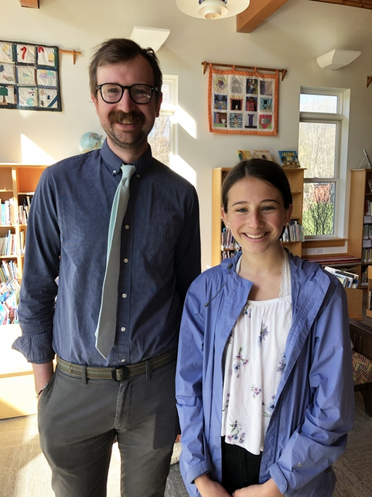 Samuelson places in Hildene essay contest